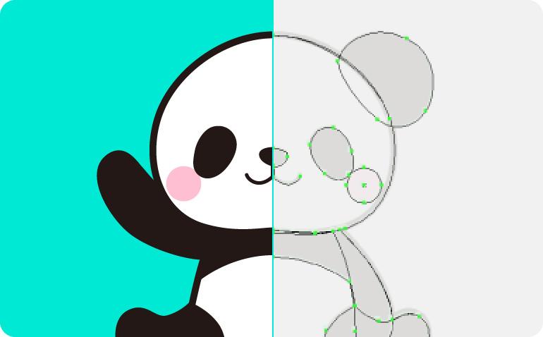 2Dキャラクターの制作
